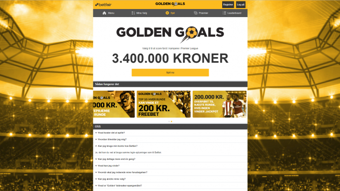 Gratis Konkurrence Betfair